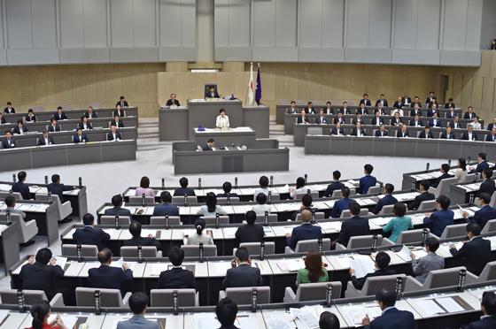第一回東京都議会臨時会 知事発言 東京都