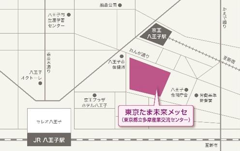 施設への地図