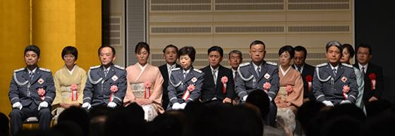知事の部屋/「第83回 都民の警察官」表彰式に出席|東京都